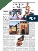 Listir í hinu djúpa suðri New Orleans