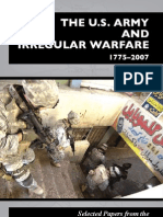 The U.S. Army and Irregular Warfare 1775-2007