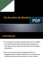 Os Acordos de Basileia [Recovered]
