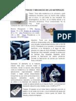 PROPIEDADES FÍSICAS Y MECANICAS DE LOS MATERIALES