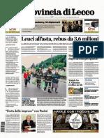 La provincia Lecco 5 dicembre 2019
