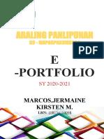 E-Portfolio-Template- AP 7-8