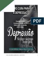 Livro Cura Para a Depressao