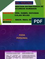 FODA PERSONAL - CURSO DE GESTION ESTRATEGICA Y RR HH