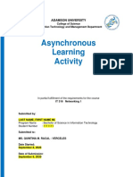 IT 316  Asynchronous Learning Activity Template 11 19 2020