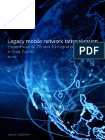 Legacy Mobile Network Rationalisation