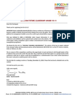 IFLA 10-11 Competition Details