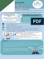 Infografia de responsabilidad y prudencia