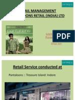 RETAIL MANAGEMENT divya & pranjal