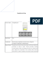 Propylthiouracil DS