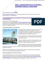 Consequential Damages In Construction Contracts and Architects Agreements Part 4 - Practical Pointers _ Construction Law Today