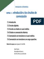 Tema 7 - Introduccion a los circuitos de conmutacion - David Fuertes