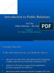 PRO458_Chapter 2_The History of Public Relations