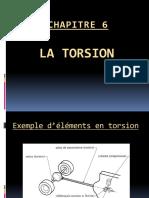 Chapitre 6 - La torsion