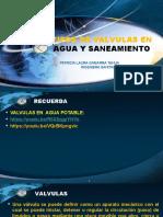 TIPOS DE VALVULAS EN AGUA Y SANEAMIENTO.pptx
