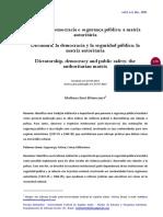 Ditadura, Democracia e Segurança Pública