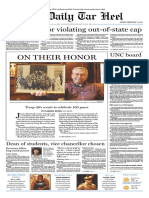The Daily Tar Heel for February 11, 2011