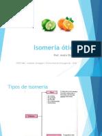 Isomeria ótica - SLIDES