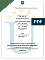 FASE 5 - ANÁLISIS Y RESULTADOS DE LA EVALUACIÓN DEL PROYECTO