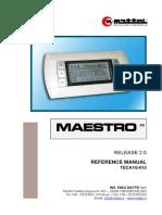 Maestro XS reference manual version 2.0.pdf