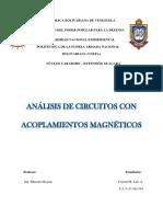 TRABAJO Análisis de circuitos con acoplamientos magnéticos