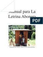 manual de mantenimiento letrina abonera