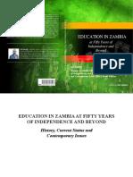 EducationinZambiaatFiftyYearsofIndependenceandBeyond (1).pdf