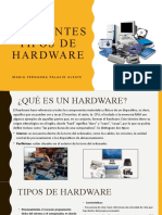 DIFERENTES TIPOS DE HARDWARE