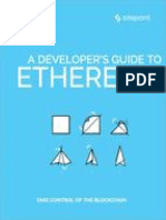 A Developer's Guide to Ethereum