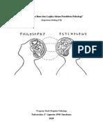 Peran Filsafat Ilmu dan Logika dalam Penelitian Psikologi