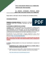 ATIVIDADE PRÁTICA E AVALIAÇÃO PARCIAL DO 2º BIMESTRE - OP