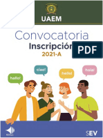 Convocatoria Inscripción CELe 2021A
