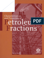 MNL 50 - (2005) Characterization and Properties of Petroleum Fractions