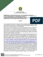 Decisão da Justiça Eleitoral sobre a pesquisa do Jornal O Hoje