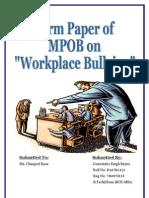 MPOB Term Paper Done