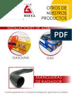 Catalogo Sensores de nivel de gasolina