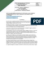 GUIA Nº 1 DE BIOLOGIA BACHILLERATO