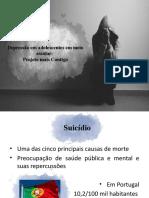 DEPRESSÃO EM ADOLESCENTES EM MEIO ESCOLAR PROJETO +CONTIGO