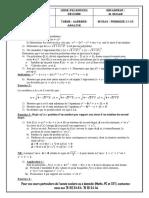 Serie révision Algèbre-Analyse Axlou Toth 1S1
