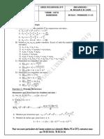 Serie n°8 Suite Numérique 1S1 renf