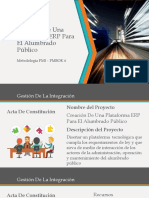 Creación De Una Plataforma ERP Para El Alumbrado