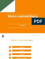 Marco Metodológico - Clase