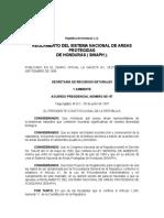 Reglametno del Sistema Nacional de Areas Protegidas en Honduras.pdf