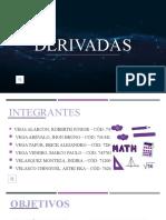 EXPO sición de derivadas