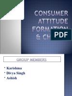 Consumer attitude formation new