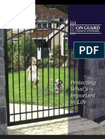 On Guard Fence Brochure