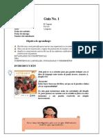 GUIA DE APRENDIZAJE TERCERO