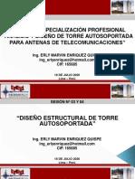 TORRE AUTOSOPORTADA - SESIÓN 03 Y 04