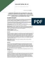 Espinosa, O., Vaca, P. (2014). Causas del desempleo en Colombia en el siglo XXI evidencia a partir de un modelo var-x cointegrado