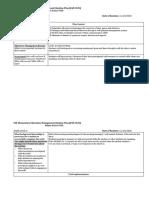 usf l1 management routine plan